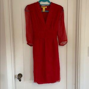 Crepe Silk Catherine Malandrino Dress | 12